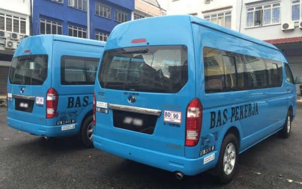 Workers employee shuttle services